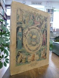 Hoffmann, Prinz Grünewald und Perlenfein mit ihren lieben Eselein
