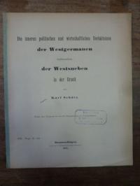 Schütz, Die inneren politischen und wirtschaftlichen Verhältnisse der Westgerman