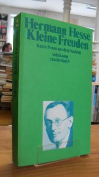 Hesse, Kleine Freuden – Kurze Prosa aus dem Nachlaß,