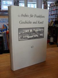 Klötzer, Archiv für Frankfurts Geschichte und Kunst, Band 63,