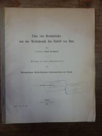 Prohasel, Über vier Bruchstücke aus der Weltchronik des Rudolf von Ems,